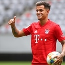 Soccer Football - Bayern Munich unveil Philippe Coutinho - Allianz Arena, Munich, Germany - August 19, 2019 Bayern Munich's Philippe Coutinho poses during the presentation REUTERS/Michael Dalder