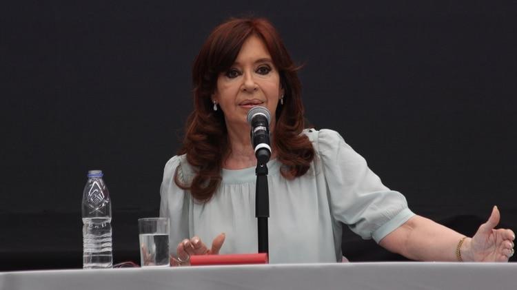 La ex jefa de Estado y actual senadora Cristina Kirchner (Foto: Matias Baglietto)