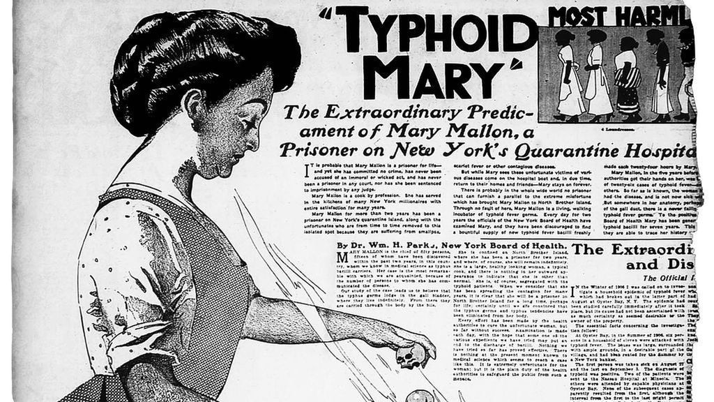 The sad story of Mary Mallon, the cook who lived in quarantine for more than 25 years thumbnail