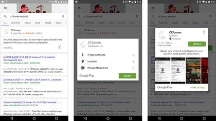 Las aplicaciones para Android podrán descargarse desde los resultados de búsqueda Android Police 162