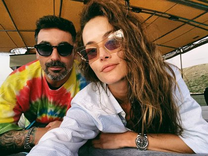 El Pocho Lavezzi y Natalia Borges confirmaron su relación durante la cuarentena estricta que pasaron en Saint Barth