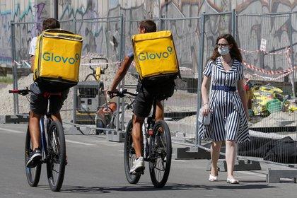 En todo el mundo, las aplicaciones de delivery tuvieron un crecimiento de la demanda durante la pandemia. REUTERS/Valentyn Ogirenko