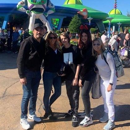 Eduardo Fort, Rocío Marengo, Felipe y Martita y Marisa