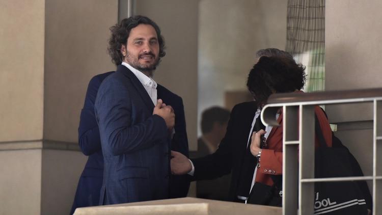 Almuerzo Alberto Fernandez y su probable jefe de Gabinete, Santiago Cafiero