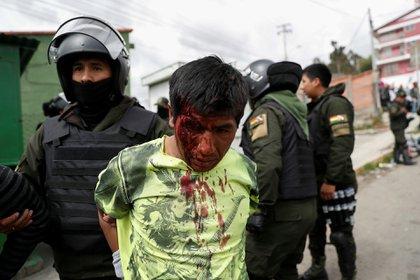 Seguidores de Evo Morales fueron detenidos en horas de la tarde en La Paz y El Alto (Reuters)