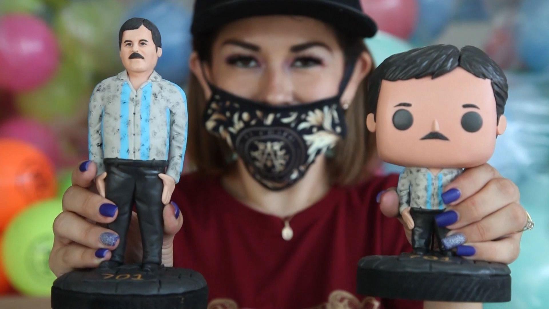 Hija de El Chapo repartiendo juguetes a niños en Guadalajara