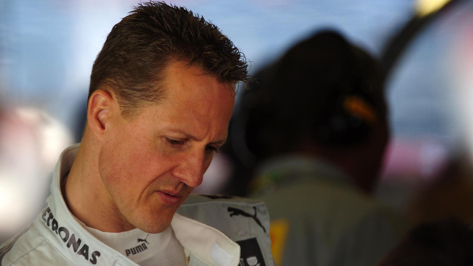 Michael Schumacher fue internado en una clínica de Francia