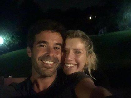 Después de un año con turbulencias, Laurita y Nicolás recibieron el 2021 juntos y enamorados