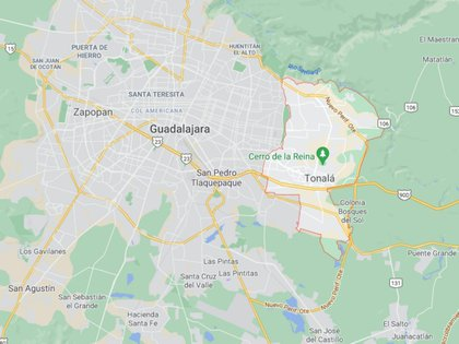 """En los """"puntos positivos"""" detectados, informó Trujillo Cuevas, se podrían encontrar más cuerpos porque todavía se perciben olores nauseabundos (Foto: Google Maps)"""