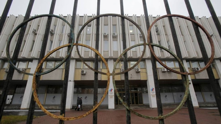 Rusia ya había sido excluido de los JJOO de Río 2016