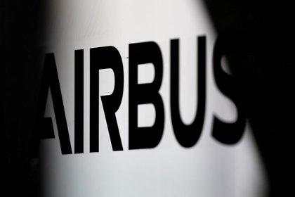 File image of the Airbus logo at the company's headquarters near Toulouse, France, Nov. 15, 2019. REUTERS / Regis Duvignau