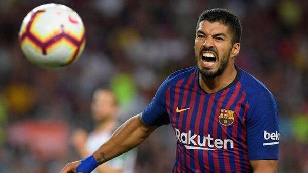 Luis Suárez es jugador del Barcelona desde el 2014
