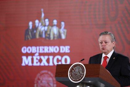Arturo Zaldívar estará dos años más al frente de la Suprema Corte de Justicia de la Nación  (Foto: EFE / Sáshenka Gutiérrez)