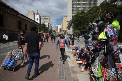 Centro de Bogotá, Colombia. 7 de enero de 2021.  REUTERS/Luisa Gonzalez