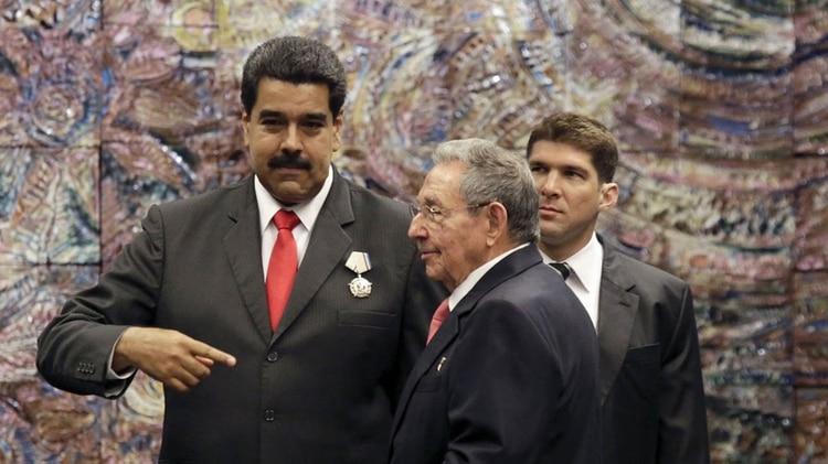 EEUU apunta contra Cuba por sus vínculos con la dictadura de Nicolás Maduro (AFP)