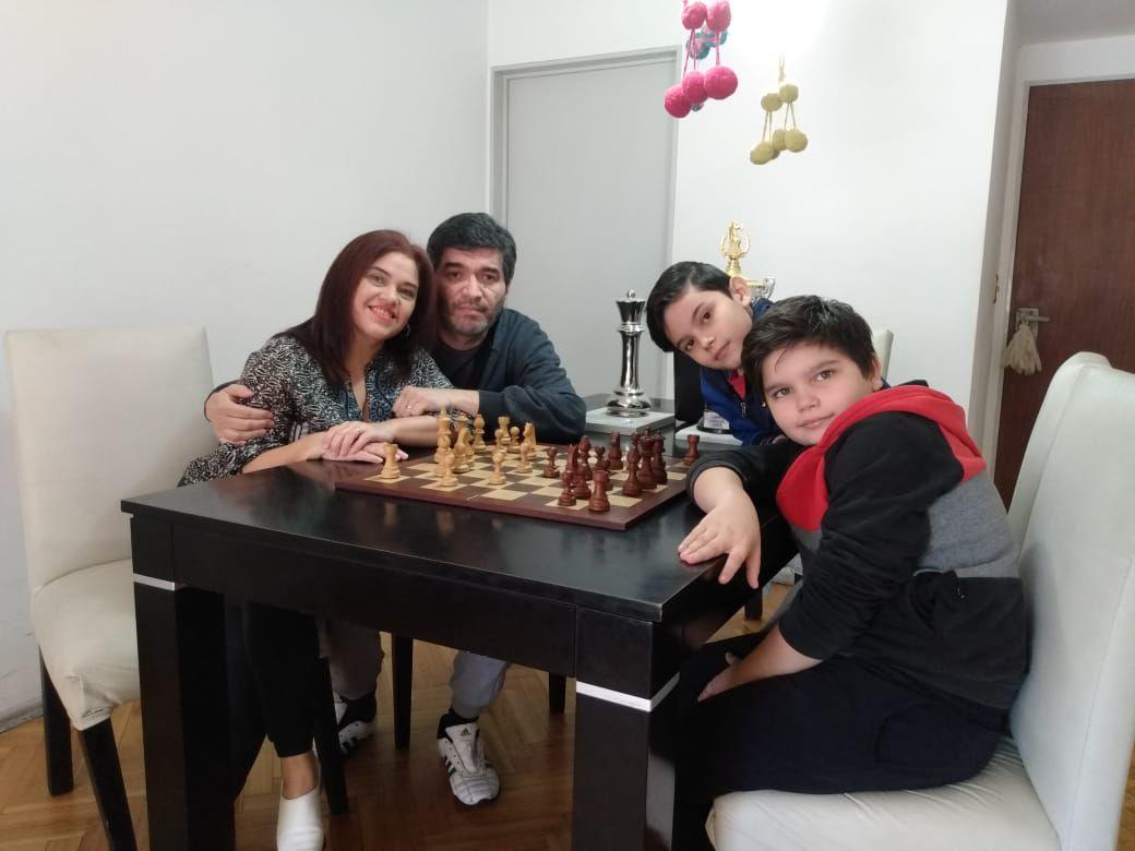 Familia Fiorito Ajedrez