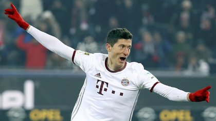 Robert Lewandowski desea irse del Bayern Munich (Reuters)