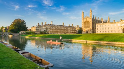 Según un estudio sobre el apetito sexual, Cambridge es la ciudad más liberada sexualmente del Reino Unido. Y los residentes tienen más citas que la persona promedio en Europa