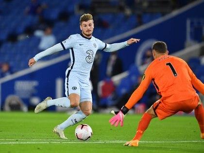 El alemán no pudo convertir en su debut con el Chelsea