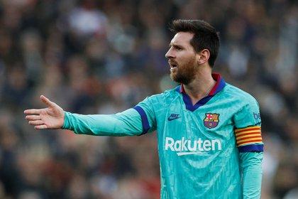 Messi pidió que se den nombres de los futbolistas que no estaban conformes con Valverde (Reuters)