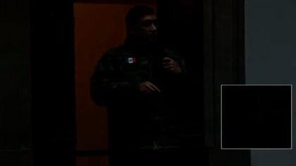 Por breves segundos, se fue la luz en plena conferencia mañanera. (Foto: captura de pantalla)
