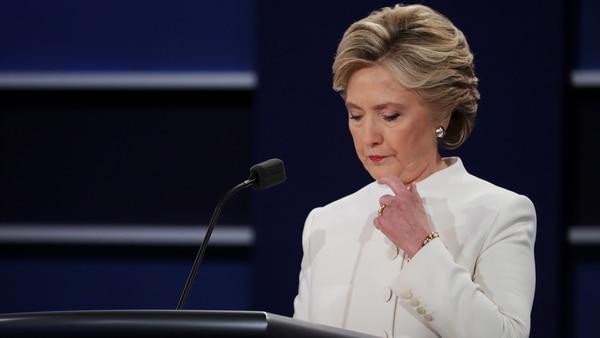 Hillary Clinton, ex candidata demócrata a la presidencia de Estados Unidos que denuncia prácticas poco éticas de Facebook durante la campaña (Getty Images)