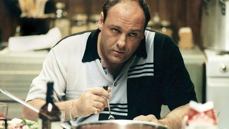 James Gandolfini como Tony Soprano, jefe de la mafia del Norte de Nueva Jersey