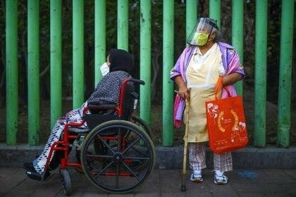 La Secretaría de Salud informó sobre el avance de la epidemia de COVID-19 en México (Foto: Reuters / Edgard Garrido)