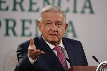 """El presidente de México, Andrés Manuel López Obrador, dijo tener """"otros datos"""" ante el informe de la Auditoría Superior de la Federación (Foto: EFE / José Méndez)"""