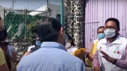 Dentro de estas instalaciones, ubicaron a nueve de los 13 adolescentes reportados como desaparecidos (Captura de pantalla: Youtube, Héctor Raúl González)