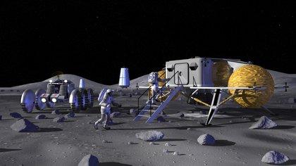 Para la nueva aventura lunar se espera la colaboración de varios países y cientos de empresas en todo el mundo (NASA)