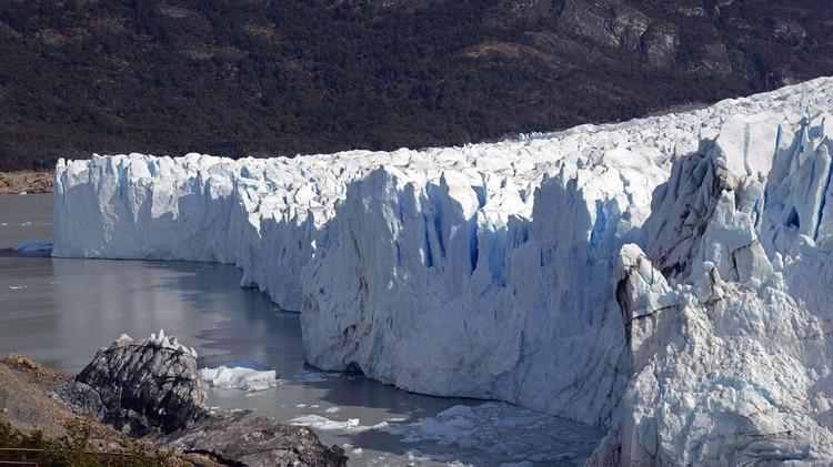 Glaciar Perito Moreno, en Santa Cruz (AFP)