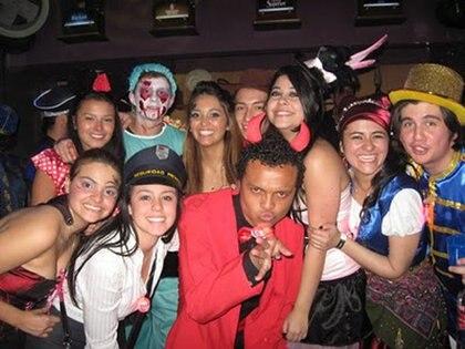 Imágenes de la fiesta de Halloween que precedió a la muerte de Luis Andrés Colmenares