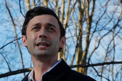 El candidato demócrata Jon Ossoff (REUTERS/Brian Snyder)