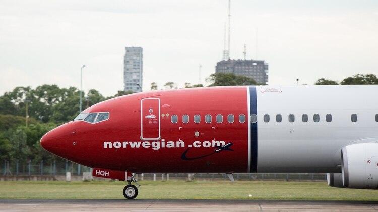 La aérea noruega comenzó a volar en el país hace poco más de un año (Adrián Escandar)