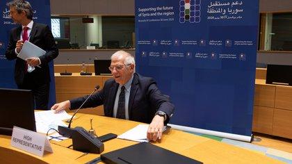 Josep Borrell (Virginia Mayo/Pool via REUTERS)