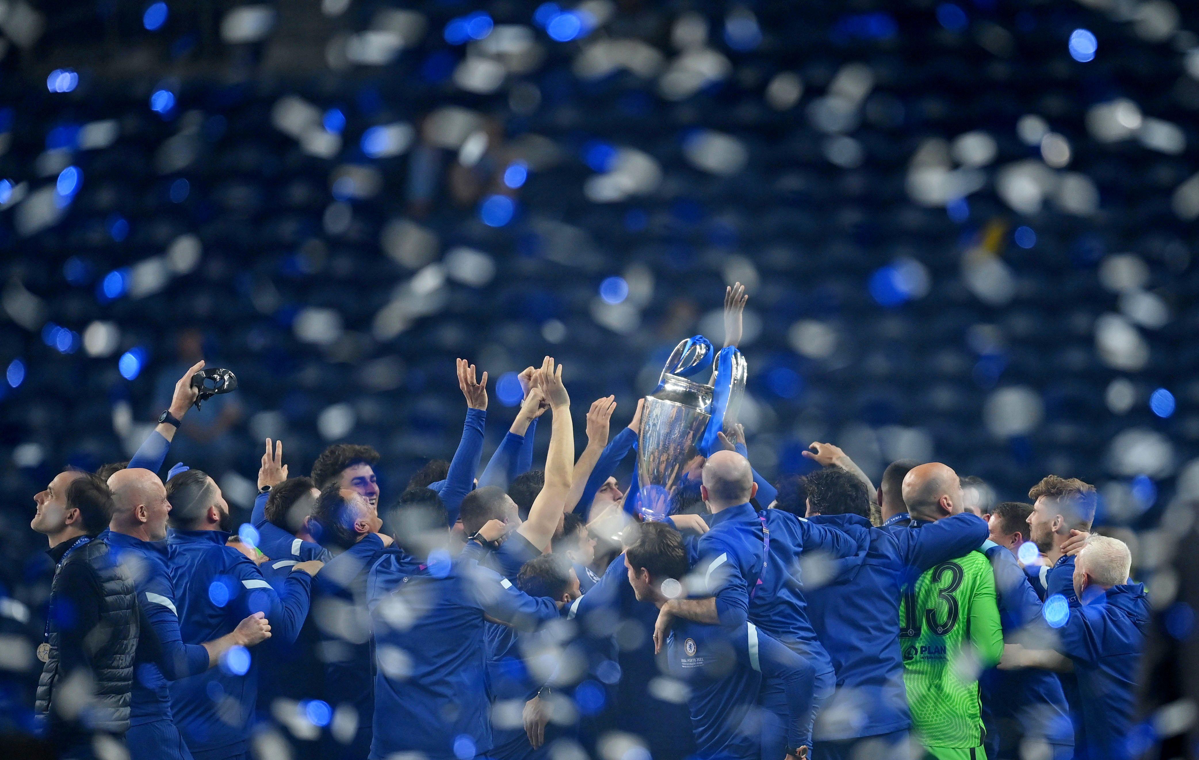 Europa se rinde ante el Chelsea (Reuters)