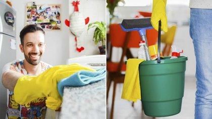 El vinagre es muy útil para limpiar y desinfectar diferentes superficies, tanto en la cocina como el baño