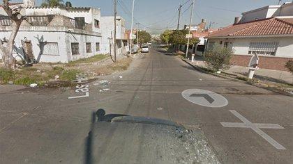 La esquina de Las Heras y Goyena, donde ocurrió el asesinato
