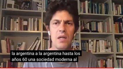 El senador Martín Lousteau fue el principal orador del Congreso Educativo de la provincia de Buenos Aires del partido Evolución