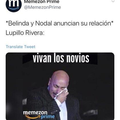 Lupillo Rivera fue objeto de memes luego de darse a conocer la noticia (Foto: Twitter)