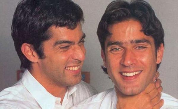 Juan y su hermano gemelo, Mariano Castro