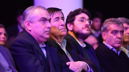 Jaime Durán Barba y su socio Santiago Nieto (Franco Fafasuli)