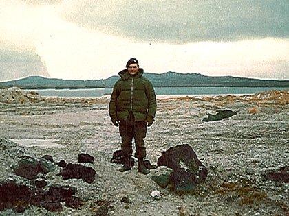 El primer teniente Luis Darío José Castagnari en las Islas Malvinas, 1982