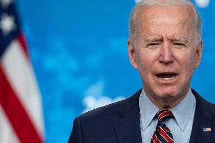 Joe Biden, presidente de los Estados Unidos, encabeza la Cumbre de Líderes por el Clima (EFE/EPA)