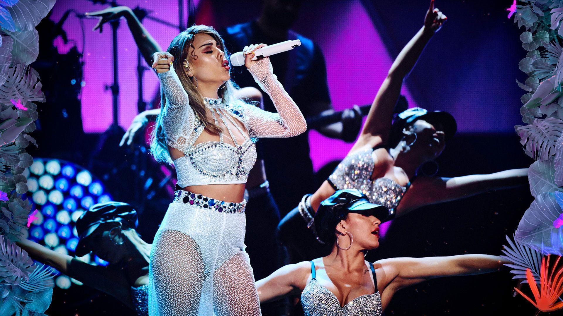Danna Paola - Selena Quintanilla - Homenaje - Premios - Como la Flor