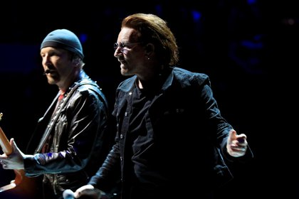 """La banda irlandesa """"""""U2"""""""". EFE/Víctor Lerena/Archivo"""