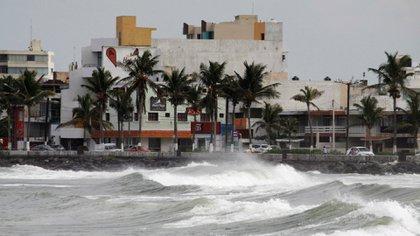 El huracán Katia golpeó México