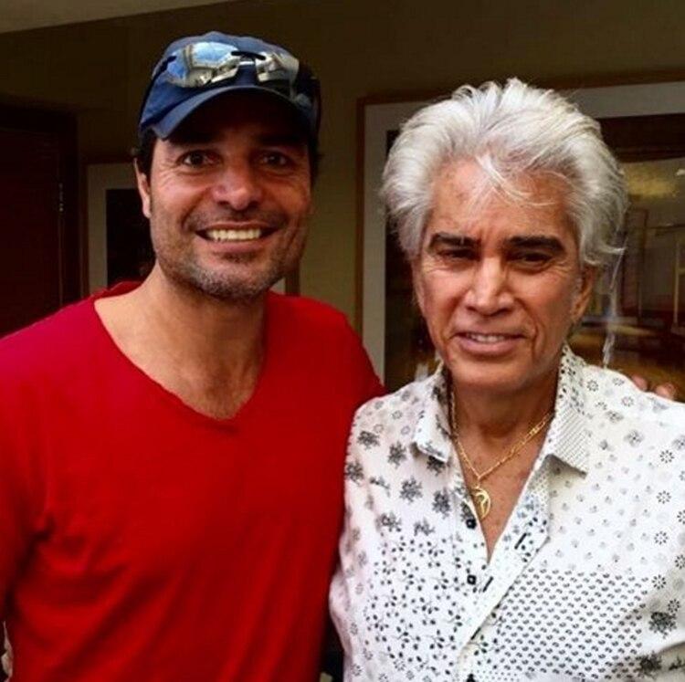 """Chayanne junto a José Luis """"El Puma"""" Rodríguez"""
