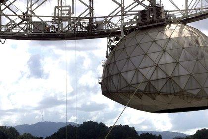 En la imagen, el radiotelescopio del Observatorio de Arecibo, en Puerto Rico. EFE/Thais Llorca/Archivo